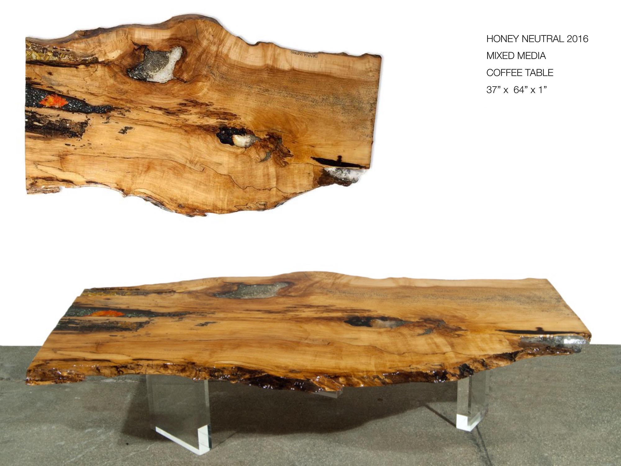 Honey Neutral 2016 Coffee Table