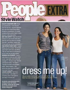 Danna Weiss in People Magazine